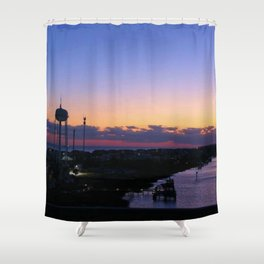 holden beach Shower Curtain