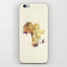 Africa map 5 #africa iPhone & iPod Skin