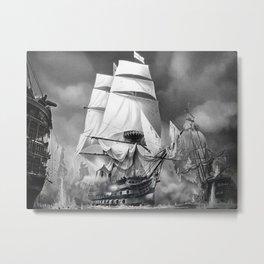 TRAFALGAR Metal Print