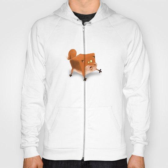 Box in a Fox Hoody