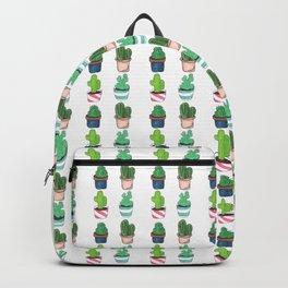 1 Cactus, 2 Cacti, 3 Cacti Four- Watercolor Design Backpack