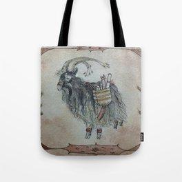 The Yule Goat Tote Bag