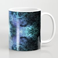matrix Mugs featuring Cosmic Matrix by WES EXOTIC IMAGERY