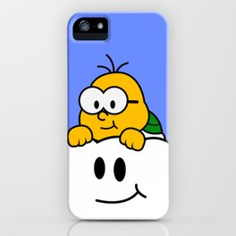 Minimalist Lakitu iPhone Case
