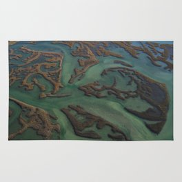 Intracoastal Waterway Marsh Maze Rug