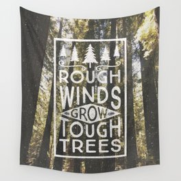 TOUGH TREES Wall Tapestry