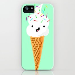 Happiness Is Sprinkles On Your Ice Cream iPhone Case