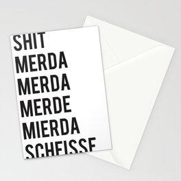 SHIT Stationery Cards
