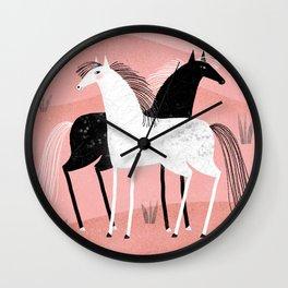 PRAIRIE FRIENDS Wall Clock