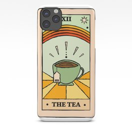 That's the TEA, sis tarot card iPhone Case