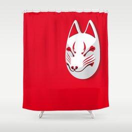 Japan Serie 3 - KITSUNE Shower Curtain
