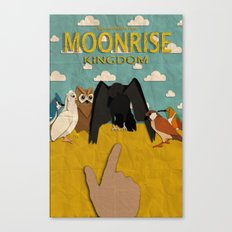 Moonrise Kingdom Minimalist Canvas Print