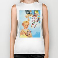 candy Biker Tanks featuring candy by •ntpl•