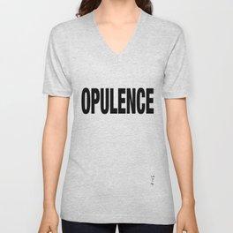 OPULENCE Unisex V-Neck