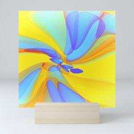 Serenade In Blue Mini Art Print