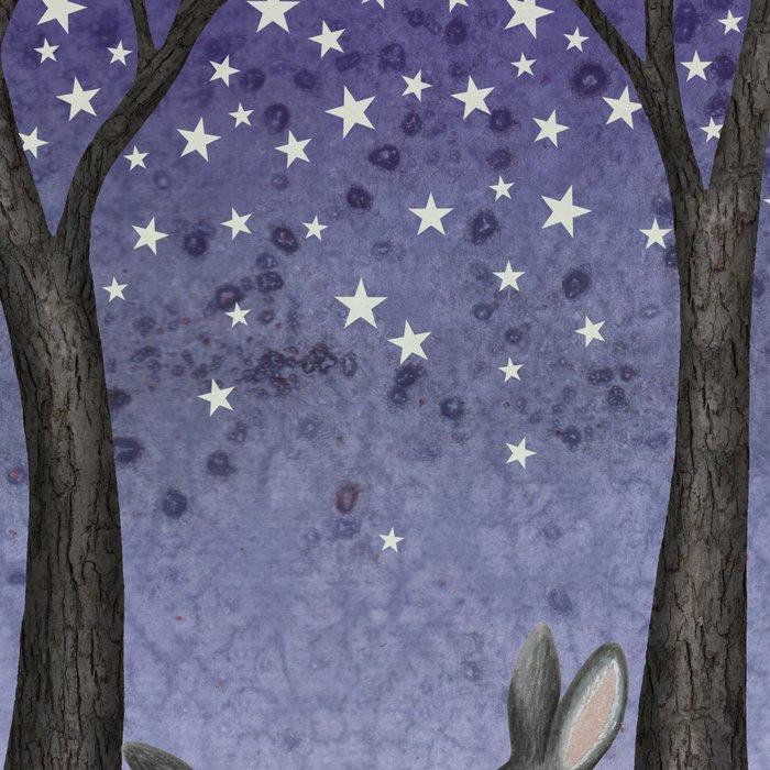 starlit bunnies Leggings