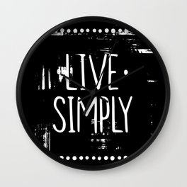 Why do you have to go and make things so complicated? Wall Clock
