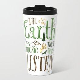 The Earth's Music Travel Mug