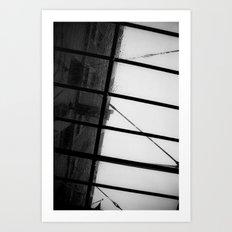 New York & Rain Art Print