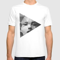 Monroe MEDIUM Mens Fitted Tee White