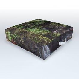 Jungle Waterfall Outdoor Floor Cushion