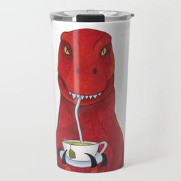Sir Timothy the Tea Rex Travel Mug