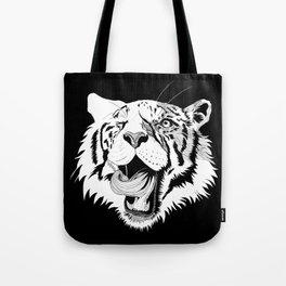 Tiger - the lick Tote Bag