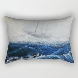 An Apparition Rectangular Pillow