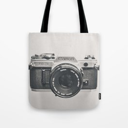 Vintage Camera Phone Tote Bag