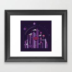 World of Tomorrow Framed Art Print