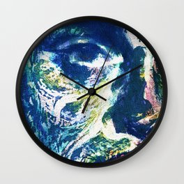 Muddy Water Face Wall Clock