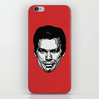 dexter iPhone & iPod Skins featuring Dexter by Dylan Morang