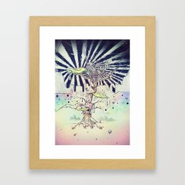 Magic Beans Framed Art Print