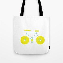 Mustache Bike Tote Bag