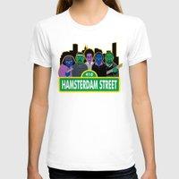 sesame street T-shirts featuring Hamsterdam Street by Grady