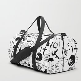 Buffy Symbology, Black Duffle Bag