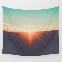 Sunsets With Her II Wall Tapestry