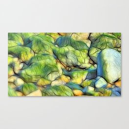 Stranded Weed Canvas Print