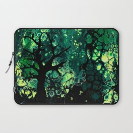 Tree Silhouette Abstract Laptop Sleeve