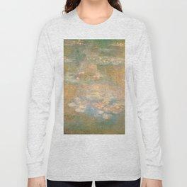 Water Lilies Claude Monet 1908 Long Sleeve T-shirt