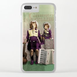 The Country Collies Clear iPhone Case