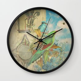 Birds and Bees Wall Clock
