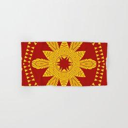 Symmetric Pattern Roman Empire Abstract Lines Conquest War Hand & Bath Towel
