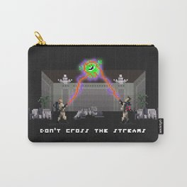 Don't Cross the Pixels Carry-All Pouch