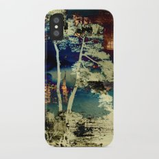 the tree iPhone X Slim Case