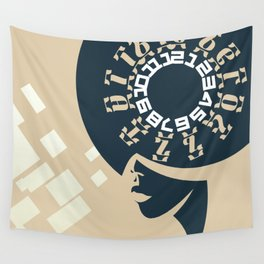 GEEZ-GIRL Wall Tapestry