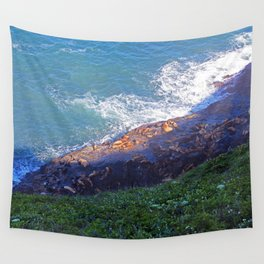 Sea Lion Caves Wall Tapestry