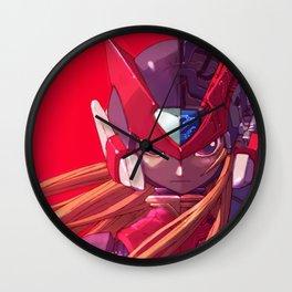 Megaman Red Zero Wall Clock