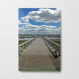 Natimuk Pier Metal Print