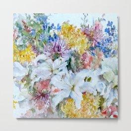 Bountiful floral Metal Print